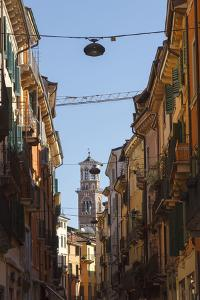 A Popular Lane in Verona Leads Directly to the Church by Petra Daisenberger