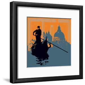 Gondola Grunge Background by Petrafler
