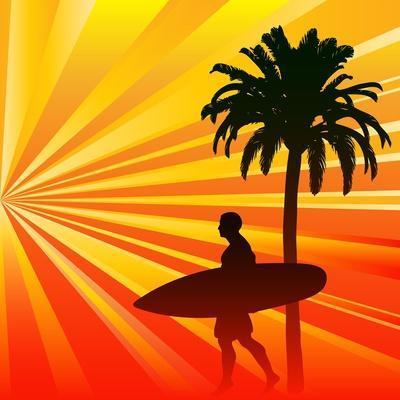 Tropical Surfer