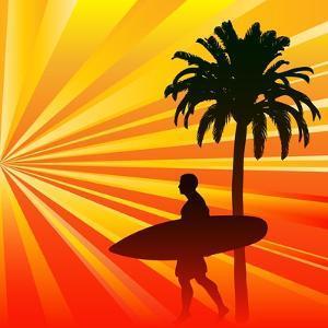 Tropical Surfer by Petrafler