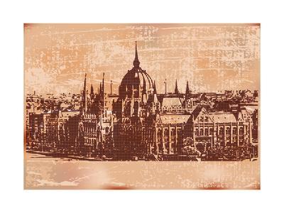 Vintage Budapest Background