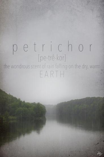 Petrichor Definition-Kimberly Glover-Premium Giclee Print
