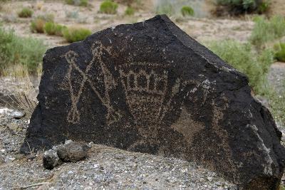 Petroglyph National Monument, Petroglyphs, New Mexico, USA--Giclee Print