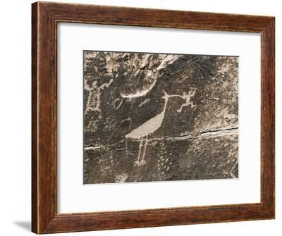 Petroglyphs from the Puerco People at Newspaper Rock-Rich Reid-Framed Photographic Print