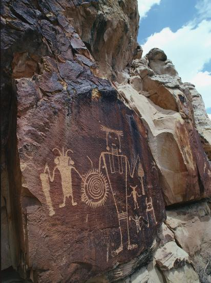 Petroglyphs-Jeff Foott-Photographic Print