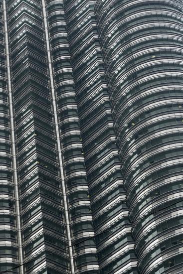 Petronas Twin Towers, Close-Up, Kuala Lumpur, Malaysia, Southeast Asia-Nick Servian-Photographic Print