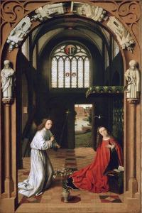 Annunciation, 1452 by Petrus Christus