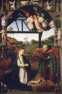 Nativity, 1452 by Petrus Christus