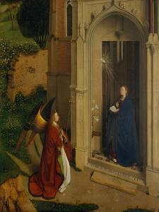 The Annunciation, c.1450 by Petrus Christus