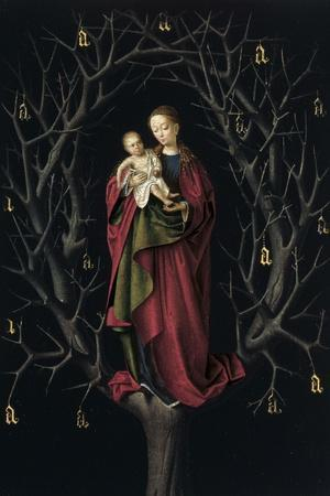 The Virgin of the Dry Tree, Ca 1465