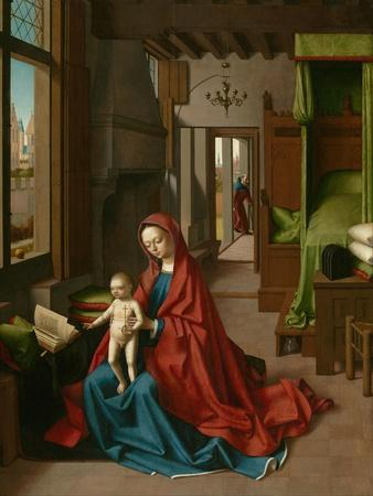 Virgin and Child in a Domestic Interior, 1460-67
