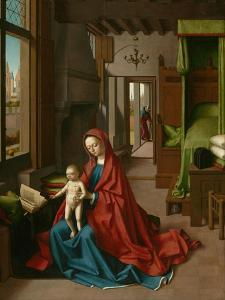 Virgin and Child in a Domestic Interior, 1460-67 by Petrus Christus