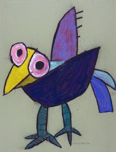 L'oiseau,2011 by Petrus De Man