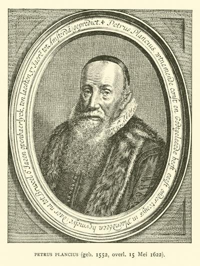 Petrus Plancius, Dutch Astronomer, Cartographer and Clergyman--Giclee Print