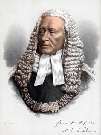 Sir Alexander James Edmund Cockburn, 12th Baronet, Lord Chief Justice of England, C1890