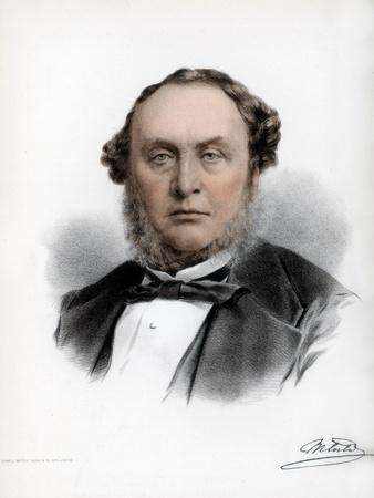 Sir Michael Costa, Italian-Born British Composer and Conductor, C1890