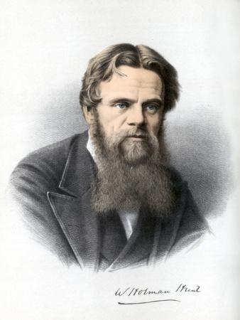 William Holman Hunt, British Painter, C1890