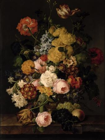 Still Life - Roses, Tulips and Other Flowers