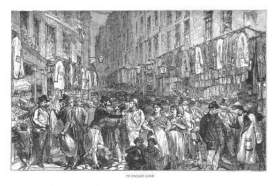 Petticoat Lane, 1878-Walter Thornbury-Giclee Print