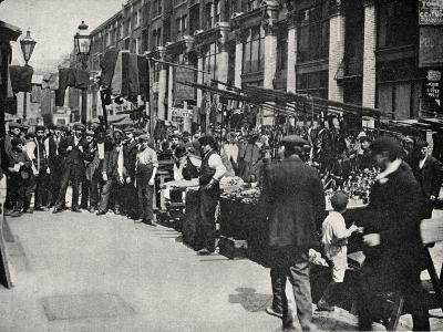 Petticoat Lane Market, East End of London-Peter Higginbotham-Photographic Print