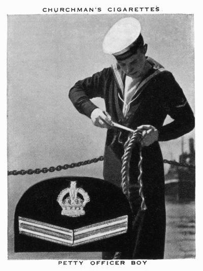Petty Officer Boy, 1937- WA & AC Churchman-Giclee Print