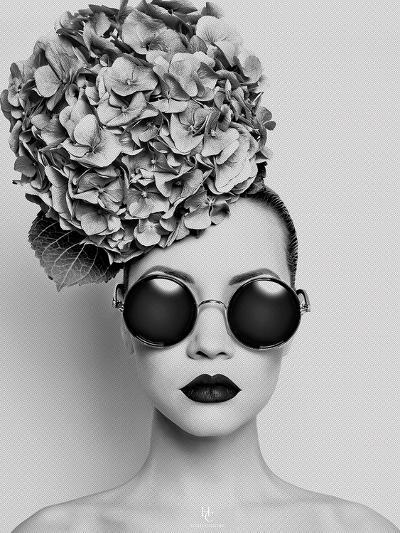 Petunia- Haute Couture-Art Print