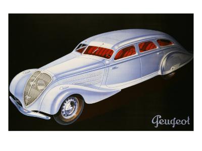Peugeot 402, c.1930--Giclee Print