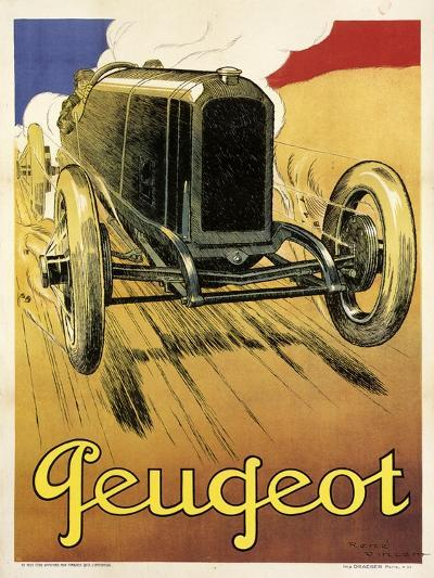 Peugeot Vint Car 1919--Giclee Print
