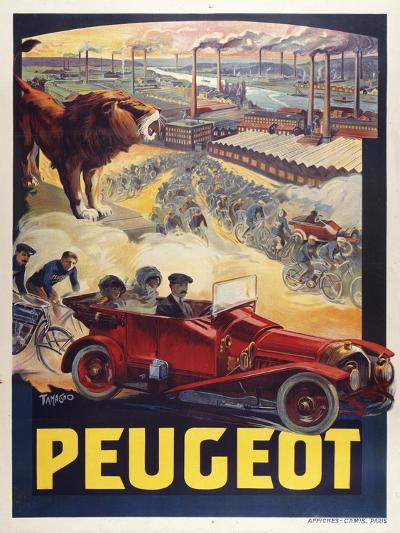 Peugeot-Marcus Jules-Giclee Print