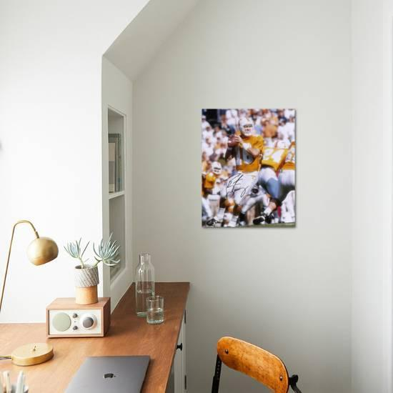 Admirable Peyton Manning Tennessee Volunteers Autographed Photo Hand Signed Collectable Photo By Art Com Interior Design Ideas Clesiryabchikinfo
