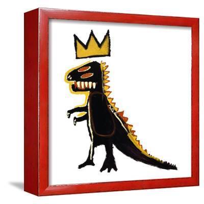 Pez Dispenser, 1984-Jean-Michel Basquiat-Framed Giclee Print