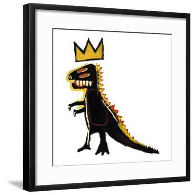 Pez Dispenser, 1984-Jean-Michel Basquiat-Framed Giclee Print