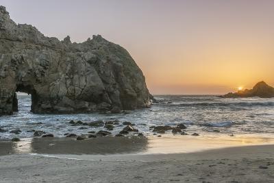 Pfeiffer Beach Sunset-Rob Tilley-Photographic Print