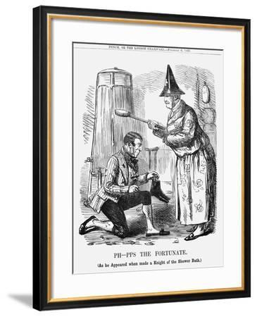 Ph-Pps the Fortunate, 1858--Framed Giclee Print