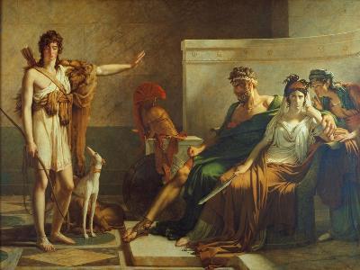 Phaedra and Hippolyt, 1802-Pierre Subleyras-Giclee Print