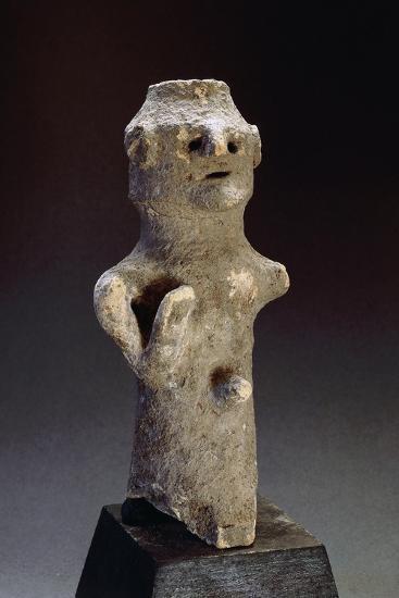 Phallic Idol, from Tharros, Near Cabras, Sardinia, Phoenician Civilization--Giclee Print