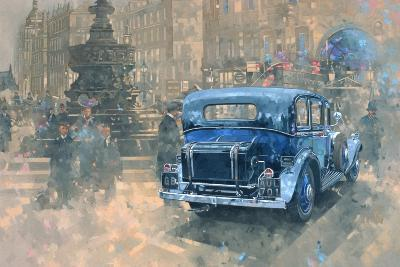 Phantom in Piccadilly (Detail)-Peter Miller-Giclee Print