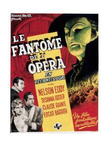 Phantom of the Opera, (aka Le Fantome De L'Opera), 1943