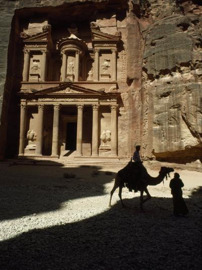 Pharaoh's Treasury, Petra, Jordan-James L^ Stanfield-Photographic Print