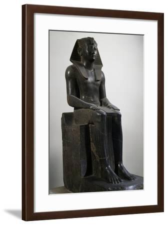 Pharaoh Thutmose III, Diorite Statue--Framed Giclee Print