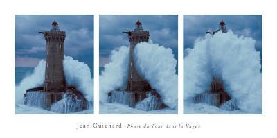 Phare du Four Dans la Vague-Jean Guichard-Art Print