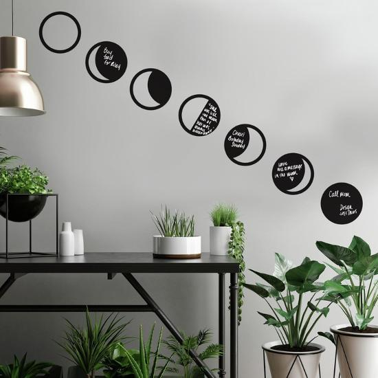 Phases Of The Moon Chalk L And Stick Wall Decals Decal By Art