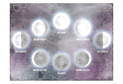 Phases of the Moon-Kimberly Allen-Art Print