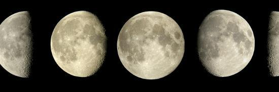Phases of the Moon-Pekka Parviainen-Photographic Print