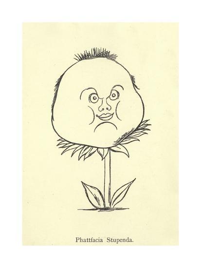 Phattfacia Stupenda-Edward Lear-Giclee Print