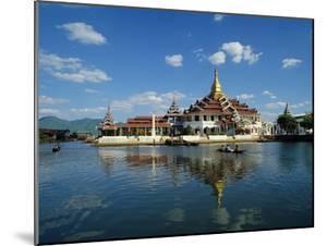 Phaung Daw Oo Monastery, Inle Lake, Shan State, Myanmar