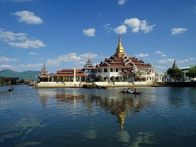 Phaung Daw Oo Monastery, Inle Lake, Shan State, Myanmar--Photographic Print
