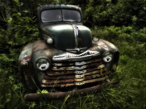 Rusty Auto I by PHBurchett