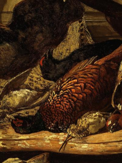 Pheasant and Woodcock, from Trophée De Chasse, or Hunting Trophies, 1862, Detail-Claude Monet-Premium Giclee Print