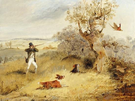 Pheasant Shooting-Henry Thomas Alken-Giclee Print